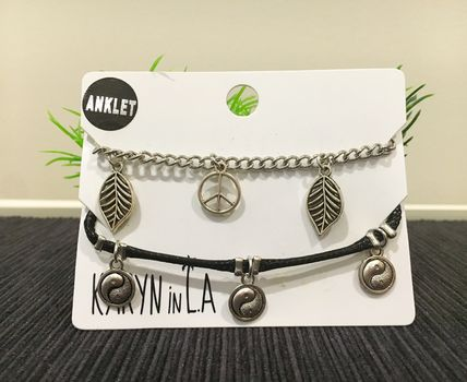 Costume Jewelry Street Style Anklets
