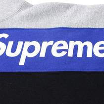 Supreme Sweatshirts Crew Neck Pullovers Street Style Long Sleeves Cotton 4