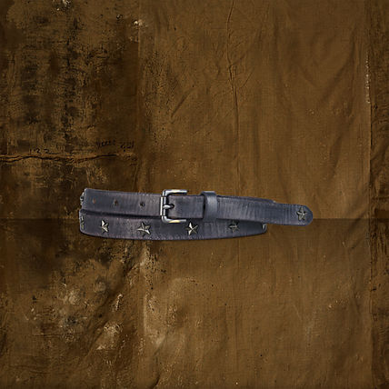 Star Unisex Leather Belts