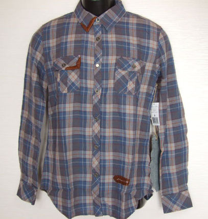 Tartan Long Sleeves Cotton Shirts