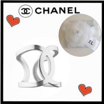 CHANEL ICON Costume Jewelry Unisex Rings