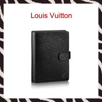 Louis Vuitton EPI Unisex Plain Leather Stationary