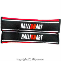 [RALLIIART] Ralliart Seat Belt Pad Thai Limited Model