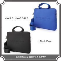 Marc by Marc Jacobs Street Style A4 2WAY Plain Shoulder Bags