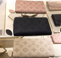 Louis Vuitton MAHINA Leather Long Wallets