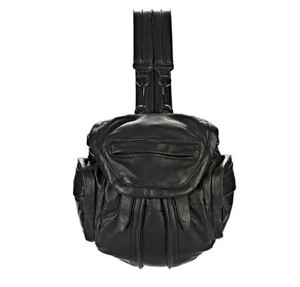 Unisex Lambskin 2WAY Backpacks