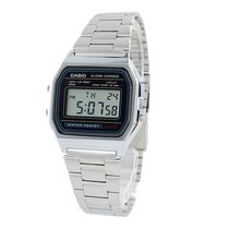 CASIO Casual Style Unisex Street Style Leather Digital Watches