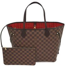 Louis Vuitton NEVERFULL Monogram Leather Totes
