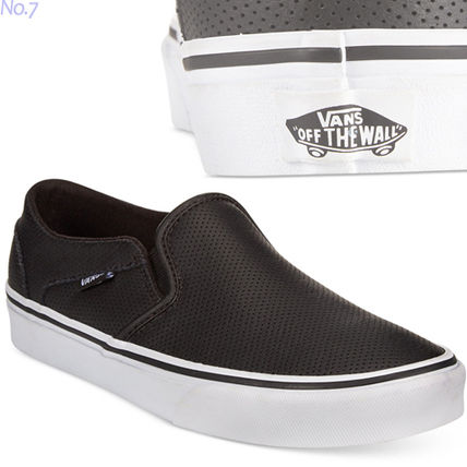 7db309b2d2a ... VANS Slip-On Platform Round Toe Unisex Faux Fur Plain Slip-On Shoes ...