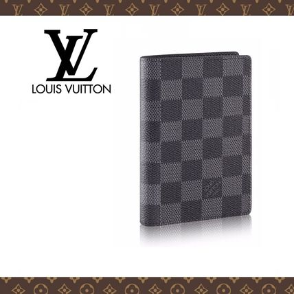 Louis Vuitton Card Holders Other Check Patterns Canvas Card Holders