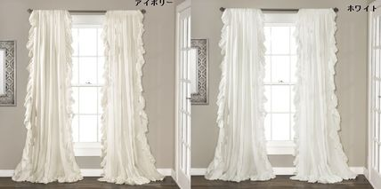 NEW LA from interior brand frilly curtain (2 sets)