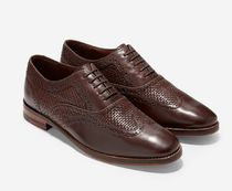 Cole Haan Leather Oxfords