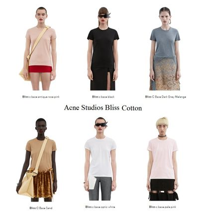 ACNE Bliss Cotton Base T-shirts 6colors