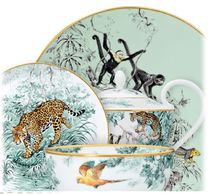 HERMES Garden Party Home Party Ideas Plates