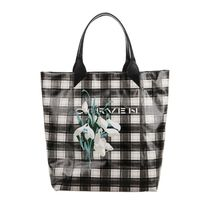 CARVEN Other Check Patterns Flower Patterns A4 Totes
