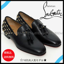 Christian Louboutin Loafers Tassel Leather Loafers & Slip-ons