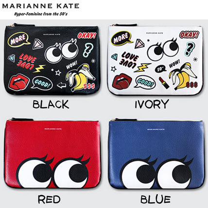 Street Style PVC Clothing Clutches