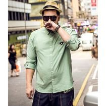 Camouflage Street Style Long Sleeves Plain Cotton Shirts