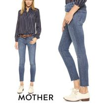 MOTHER Denim Plain Skinny Jeans