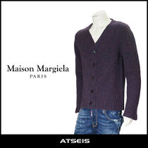 Maison Martin Margiela Wool Low Gauge Street Style Vests & Gillets