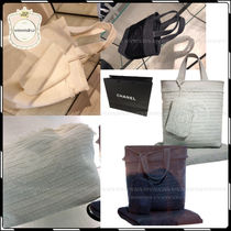 CHANEL Street Style A4 Totes