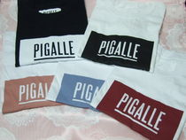 PIGALLE Street Style Cotton Short Sleeves T-Shirts