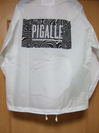 Magazines published PIGALLE box logo jacket