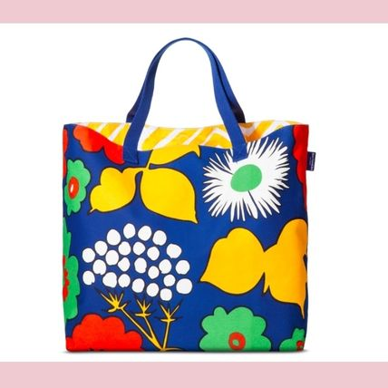 Flower Patterns Collaboration Totes