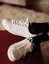 Marks&Spencer Collaboration Plain Leather Low-Top Sneakers