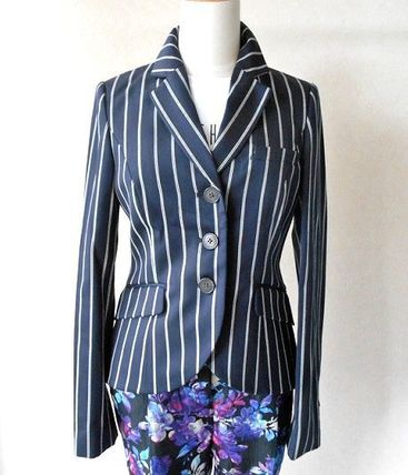 Stripes Union Jack mark Medium Office Style Jackets