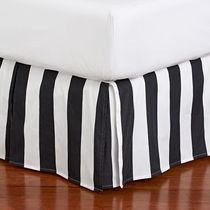 Pottery Barn Stripes Bad Skirts Duvet Covers