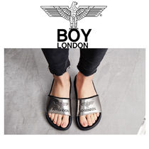 BOY LONDON Unisex Plain Shower Shoes Shower Sandals