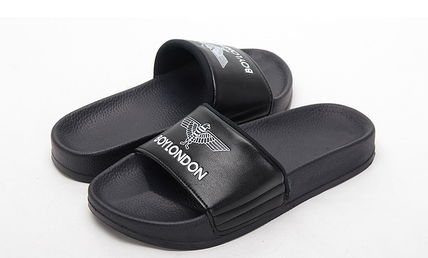 BOY LONDON Shower Sandals Unisex Plain Shower Shoes Shower Sandals 6