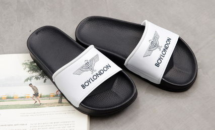 BOY LONDON Shower Sandals Unisex Plain Shower Shoes Shower Sandals 7
