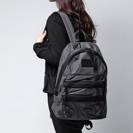 Marc by Marc Jacobs Unisex Nylon A4 Backpacks
