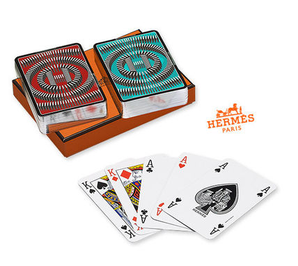 To the gift cards * HERMES * L ' Effet Domino / Hermes