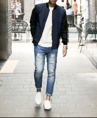 Joggers Denim Street Style Joggers Jeans 2