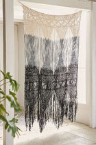 Urban Outfitters Stripes Fringes Ethnic Curtains