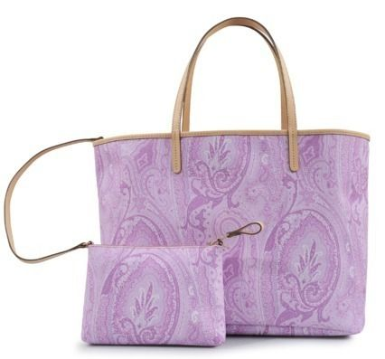 Paisley A4 PVC Clothing Office Style Totes