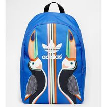 adidas Stripes Canvas Street Style A4 Other Animal Patterns