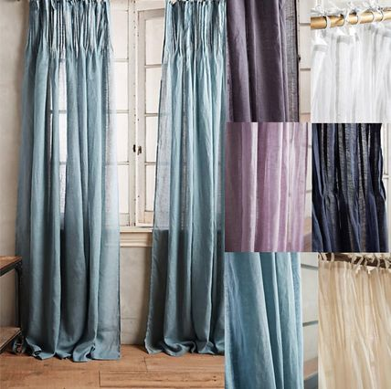 Anthropologie * curtain length one piece or two piece set
