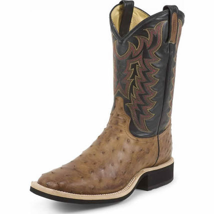 Other Animal Patterns Leather Boots