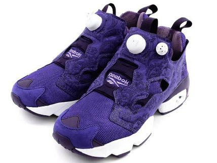 Reebok PUMP FURY Unisex Plain Low-Top Sneakers