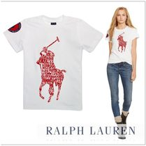 Ralph Lauren Crew Neck Cotton Short Sleeves T-Shirts