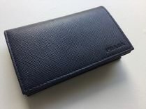 PRADA SAFFIANO LUX Saffiano Plain Card Holders