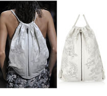 Alexander Wang Flower Patterns Leather Purses Backpacks