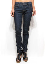 Plain Long Skinny Jeans