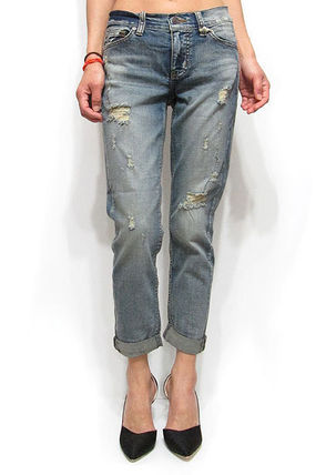 Plain Wide & Flared Jeans