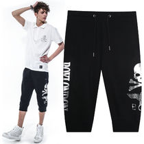 BOY LONDON Studded Cotton Sarouel Pants