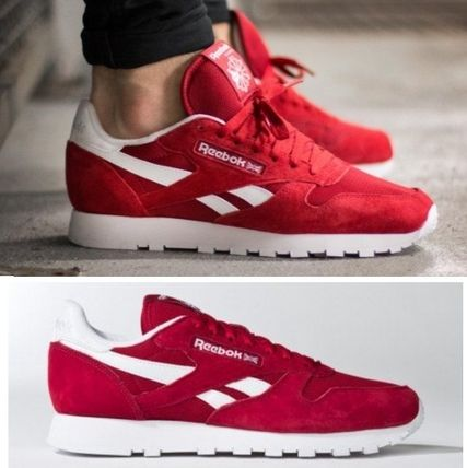 REEBOK UNISEX CLASSIC LEATHER red V69420